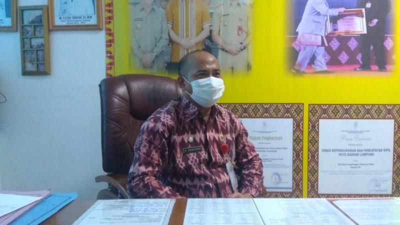 Disdukcapil Bandar Lampung Batasi Jumlah Perekaman KTP