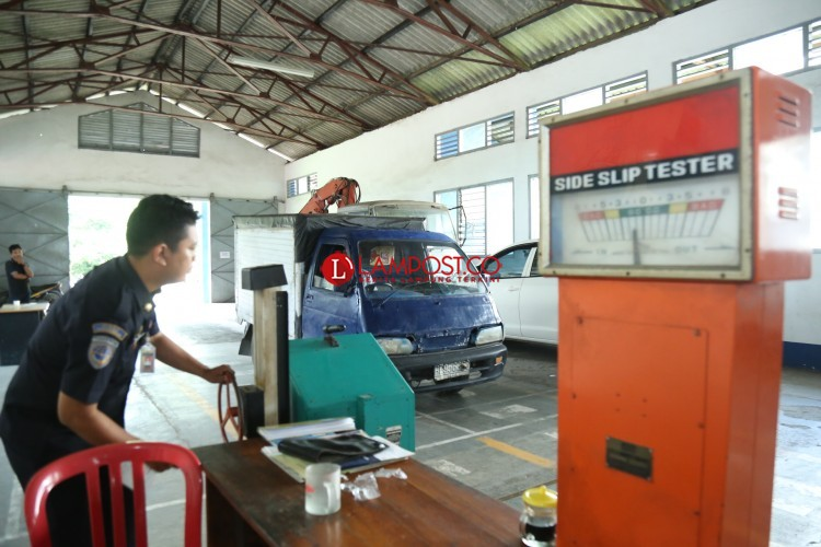 Dishub Bandar Lampung Targetkan Awal Tahun Uji Kir Kembali Normal