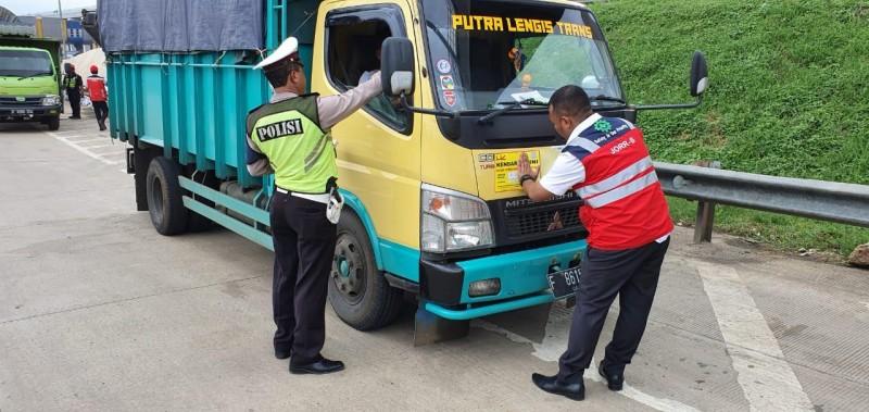Dishub Lampung Mengintensifkan Razia Kendaraan Muatan Berlebih