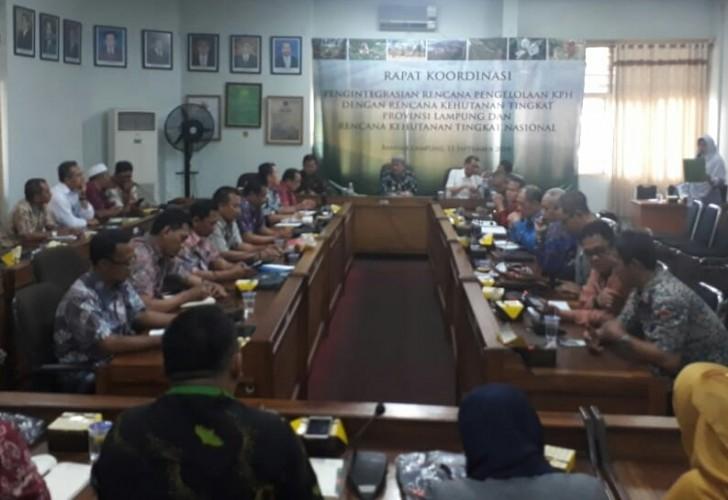 Dishut Integrasikan Rencana Pengelolaan KPH dengan Kehutanan Nasional