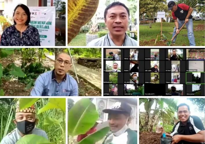 Dishut Provinsi Lampung dan CCAI Ajak Masyarakat Menanam Pohon