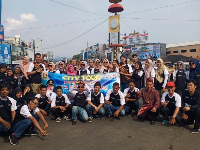 Dispar Bandar Lampung Beri Pembekalan Pelaku Usaha Lewat <i>City Tour</i>