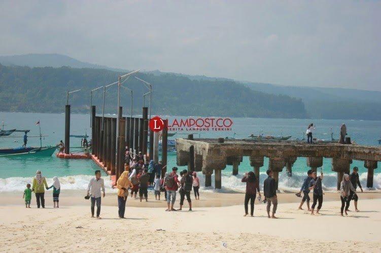 Disparbud Lamsel Tingkatkan Pemantuan di Lokasi Wisata