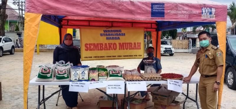 Disperindag Lampung Dirikan Warung Stabilisasi Harga