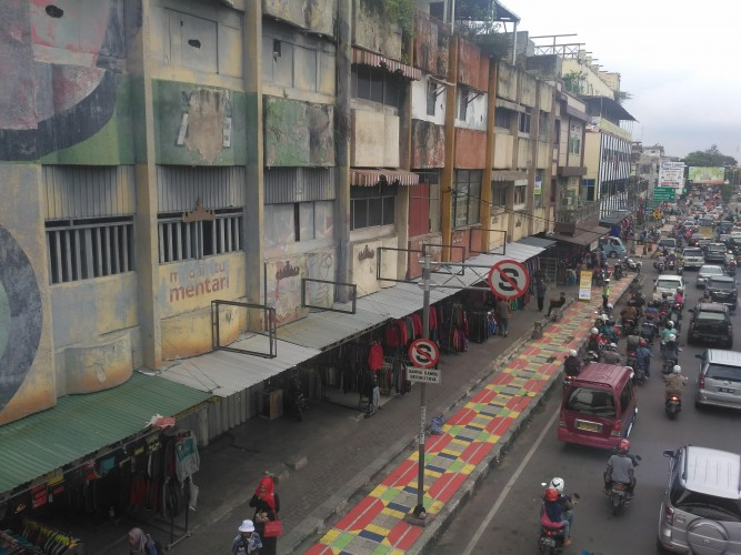 Disperkim Beri Teguran 148 Pemilik Ruko soal Keindahan Bangunan