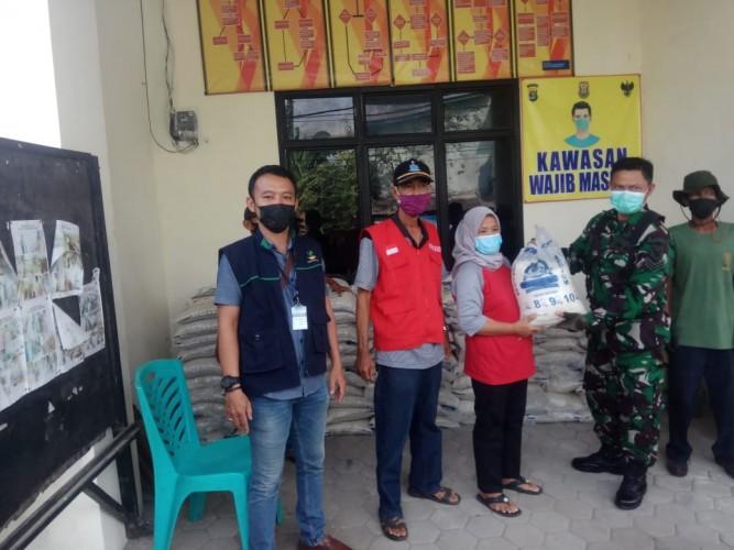 Distribusi Beras BPNT Murni di Bandar Lampung Rampung