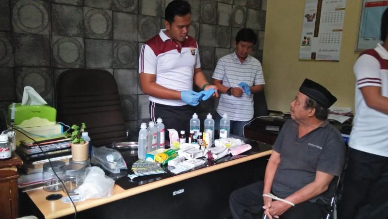 Ditangkap Polisi, Samiran Mengaku 37 Tahun Melayani Pengobatan dan Sunat