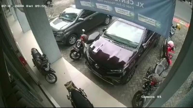 Ditinggal Rapat, Motor Karyawan Operator Seluler Raib Digondol Maling