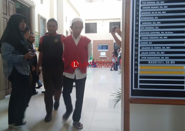 Diupah Rp9 Juta Kurir Sabu Dituntut 18 Tahun Penjara