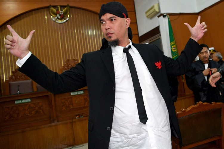Divonis 1,5 Tahun Penjara, Ahmad Dhani Langsung Ditahan di LP Cipinang