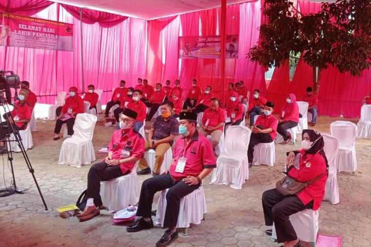 Djarot Minta Kader PDI P Pringsewu Terlibat dalam Pembangunan Desa