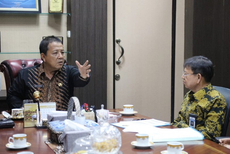 DJPb Bahas Serapan DAK Bersama Gubernur