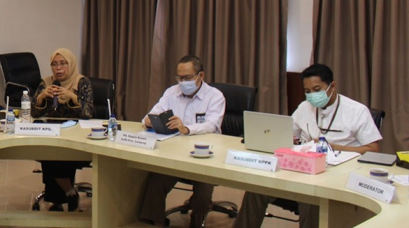DJPb Lampung Gelar FGD Kredit Program dan Market Place Pemerintah