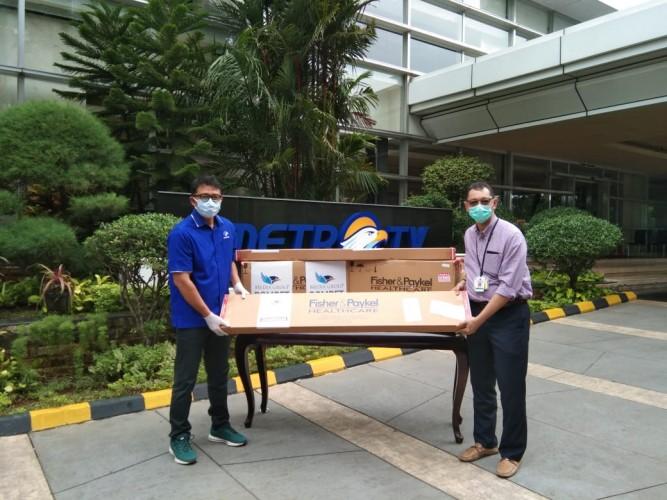 DK Media Group Donasikan Dua Alat Optiflow ke RS Persahabatan