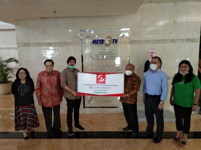 DK Media Group Terima Donasi Rp1 Miliar dari Yayasan Permata