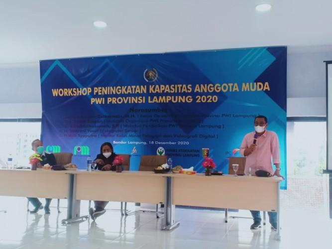 DK PWI Lampung Ingatkan Profesionalitas Wartawan