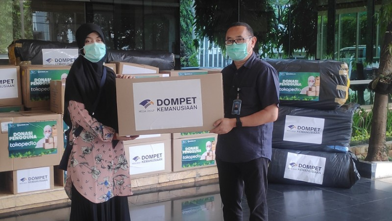 DKMG Salurkan 2,5 Juta APD Selama Pandemi Covid-19