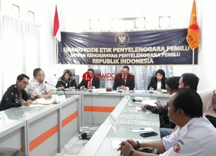 DKPP Kembali Periksa Anggota KPU Lampung Soal Dugaan Jual Beli Kursi