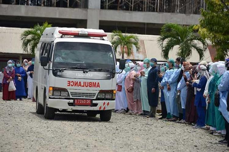 Dokter Senior Pertama di Lampung Meninggal akibat Covid-19