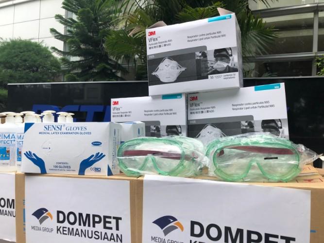Dompet Kemanusiaan Media Group Himpun Donasi Rp25,2 Miliar