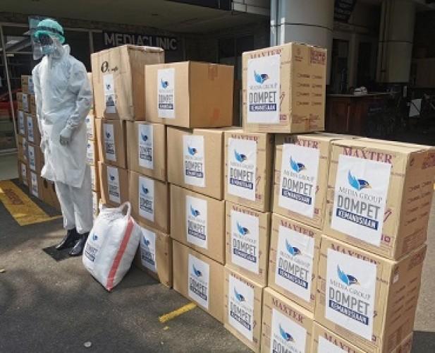 Dompet Kemanusiaan Media Group hingga 25 Oktober Salurkan Rp22,6 Miliar