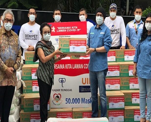 Dompet Kemanusiaan Media Group Salurkan APD Senilai Rp14,382 Miliar