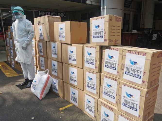 Dompet Kemanusiaan Media Group Salurkan Donasi Rp25,4 Miliar