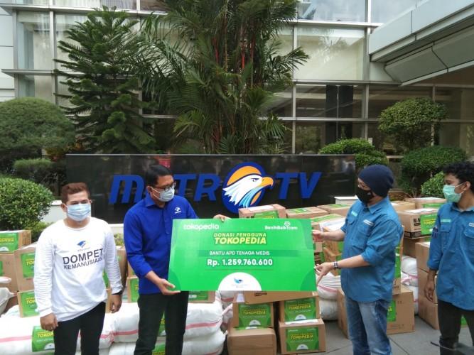 Dompet Kemanusiaan Media Group Sudah Salurkan Donasi Rp24,3 Miliar