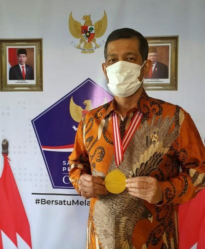 Doni Monardo Sebut Medali Emas Pentahelix