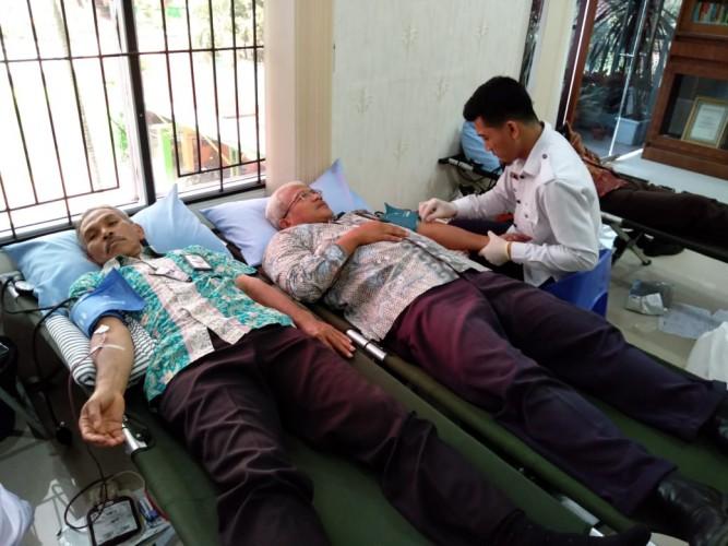 Donor Darah Ajang Perkuat Sinergitas Kemenkeu