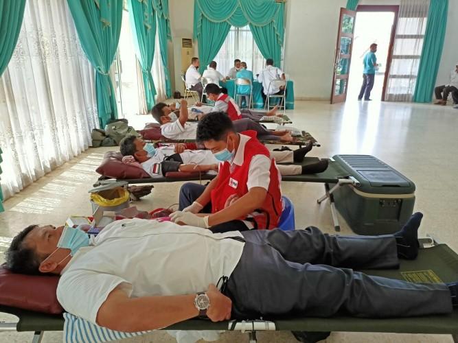 Donor Darah PTPN 7 Tetap Rutin di Tengah Pandemi