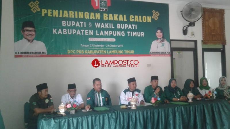 DPC PKB Lamtim Buka Pendaftaran Bakal Calon Bupati dan Wakil Bupati