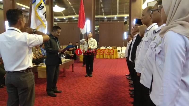 DPDBNM RI Provinsi Lampung Dikukuhkan