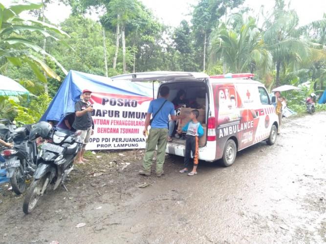 DPD PDIP Berikan Bantuan Kemanusiaan untuk Korban Tsunami
