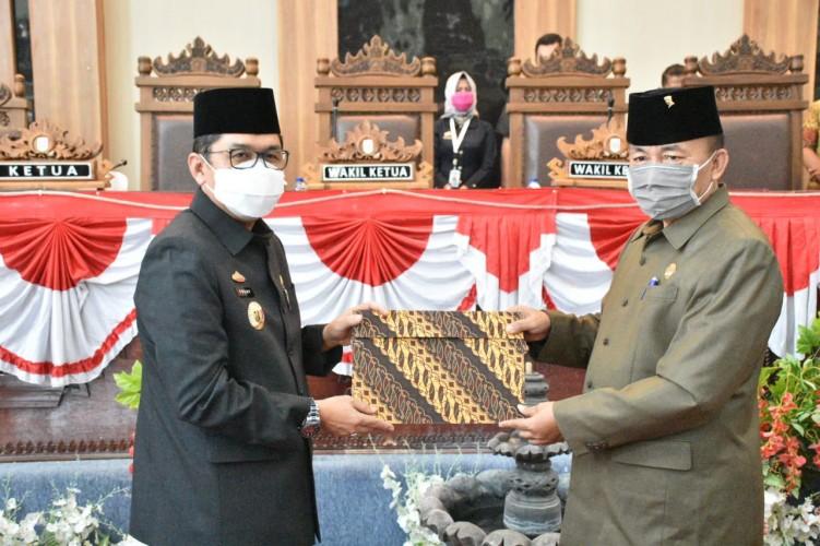 DPRD Lampung Timur Sahkan Anggaran 2021