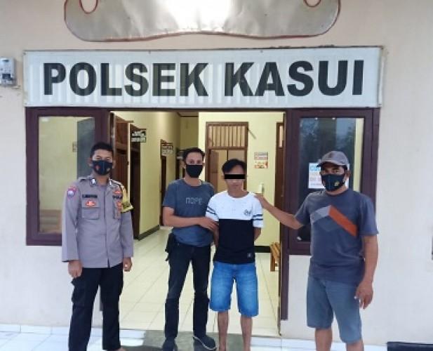 DPO Curanmor Diciduk Polsek Kasui Usai Dua Tahun Buron