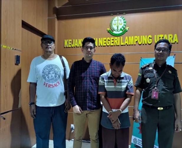 DPO Kasus Pencabulan Kejari Kotabumi Akhirnya Tertangkap