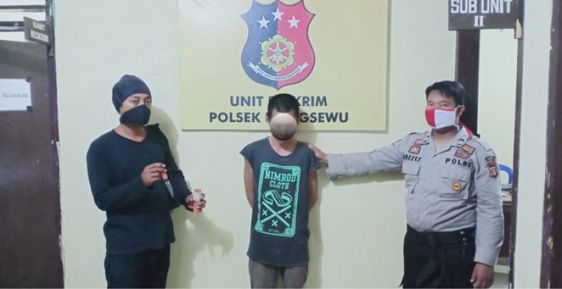 DPO Penganiaya Warga Pesawaran Diamankan Polisi