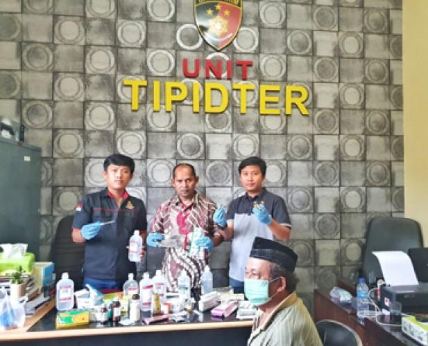 DPO Penyunat Diciduk Polres Lambar di Way Kanan
