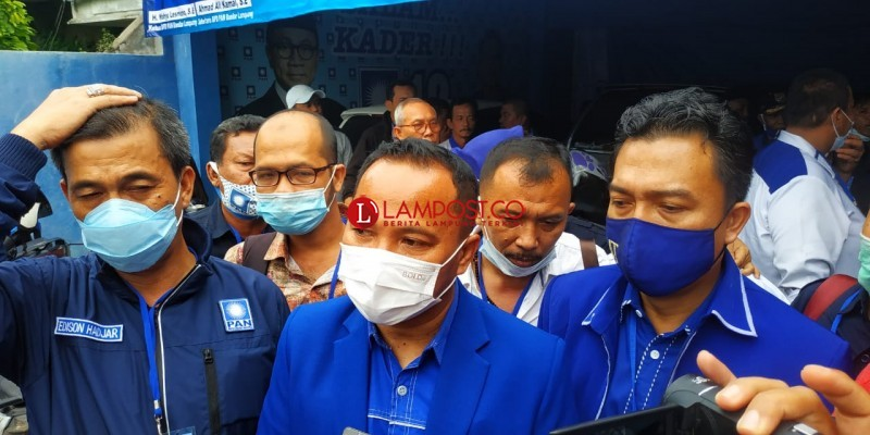 DPP Tunjuk Empat Struktur Inti PAN Bandar Lampung