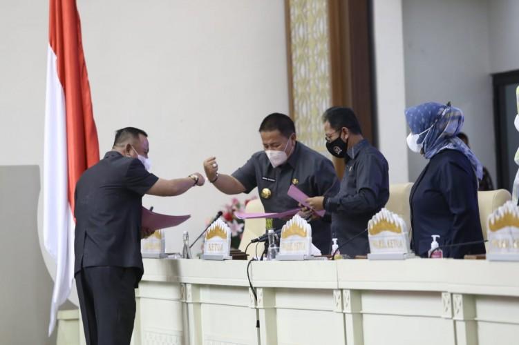 DPRD Apresiasi Kinerja Gubernur Lampung dengan Catatan