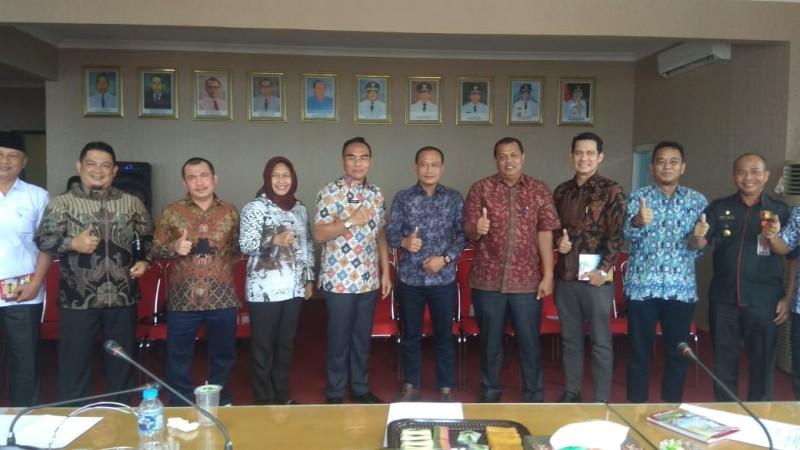DPRD Bengkalis Belajar Pelayanan KTP-El di Pemkot Bandar Lampung