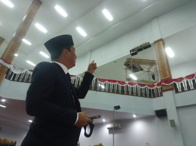 DPRD Curiga Ada 'Mafia' Tender Proyek APBD II Tubaba