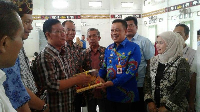 DPRD Komisi II OKU TimurKunjungi Dinas Pertanian Lampura