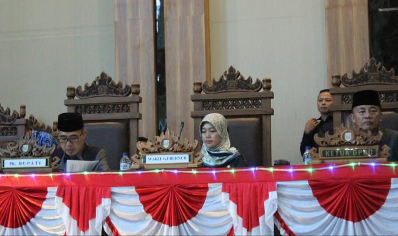 DPRD Lamtim Gelar Rapat Paripurna Pemberhentian Bupati Lamtim