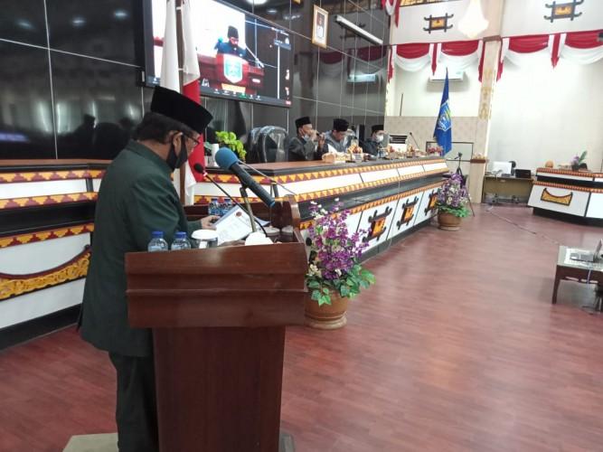 DPRD Metro Terima Surat Pengunduran Anna Morinda