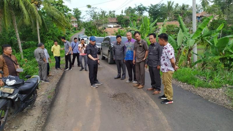 DPRD Minta Jalan Senilai Rp1,4 M Yang Rusak Diperbaiki