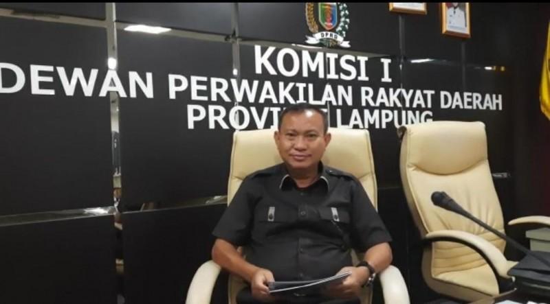 DPRD Minta Pengawasan dan Penjagaan di Lampung Ditingkatkan