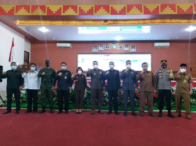 DPRD Pesawaran Kirim Hasil Penetapan Bupati ke Pemprov