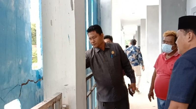 DPRD Pesisir Barat akan Panggil Disdikbud soal Pembangunan SMPN 1 Pesisir Tengah